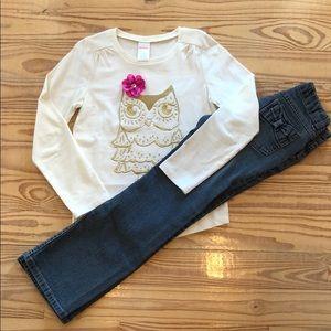 Gymboree Jeans & Shirt Set 👖